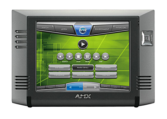 AMX 威廉希尔液晶控制屏