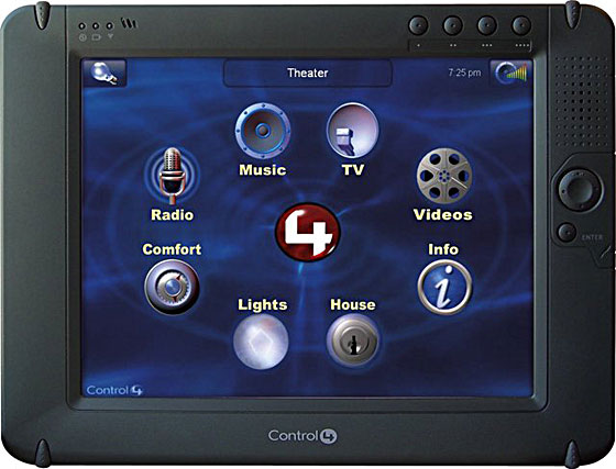 Control4 威廉希尔无线液晶控制屏
