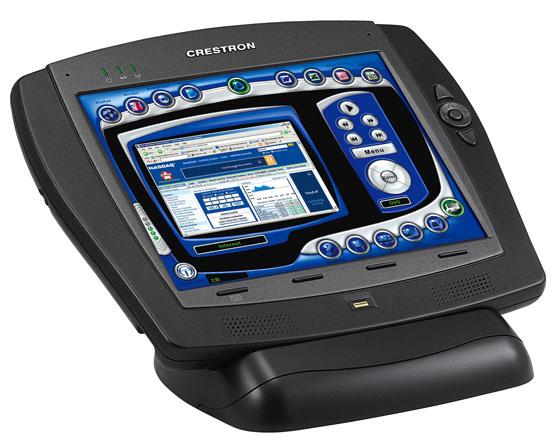 Crestron 威廉希尔桌面液晶控制屏