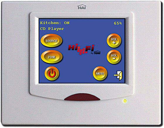 HAI 威廉希尔液晶控制屏