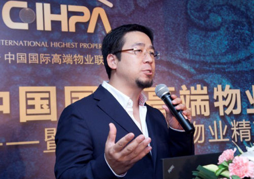 观澜湖地产集团总经理洪刚