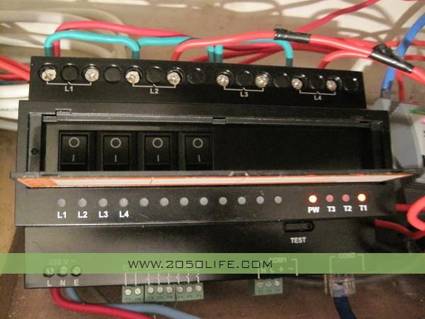 整体式4路调光集中驱动器