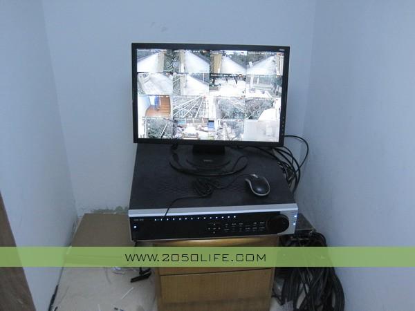 高清网络视频监控硬盘录像机(实现本地及网络甚至手机远程监控功能)