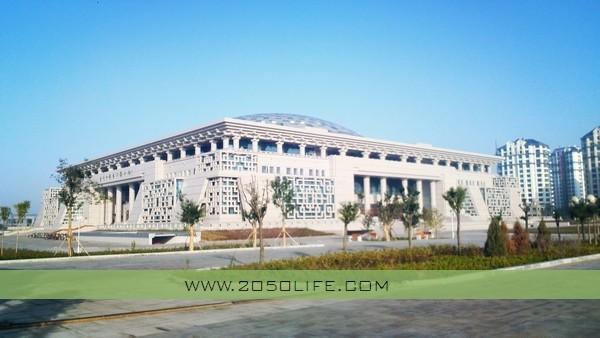 当代中国书法艺术馆全景