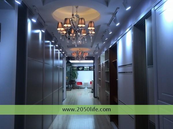 上海煦坤装饰——装修工艺展示长廊