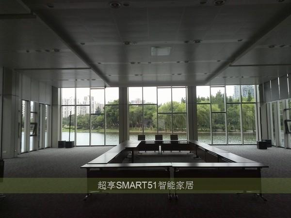 147座大型会议室——电动遮阳帘