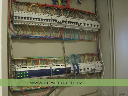 奇胜c-bus智能照明强电控制箱